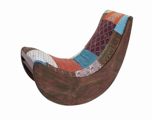 Madrid Exclusive Relaxing Designer Rocking Chair Brand Benzara