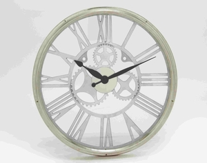 Magnificent and Exquisite Wall Clock with Roman Numbers Brand Benzara