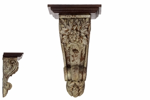 Magnificent and Sophisticated Resin Designed Corbel