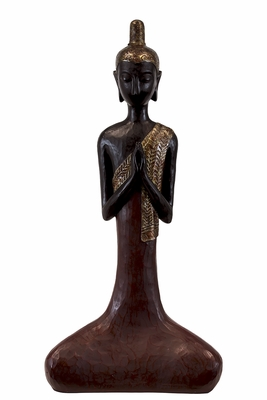 Malaysia's Spiritual Resin Sitting Buddha Large by Urban Trends Collection