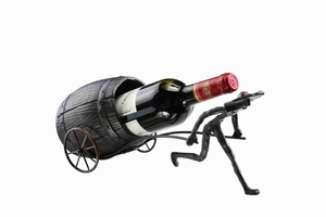 Man & Barrel Wine Bottle Holder Statement Of Bold Living Style Brand SPI-HOME
