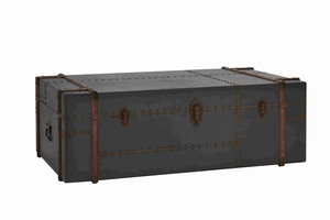 Manhattan Old Trunk Shaped Classic Coffee Table Brand Benzara