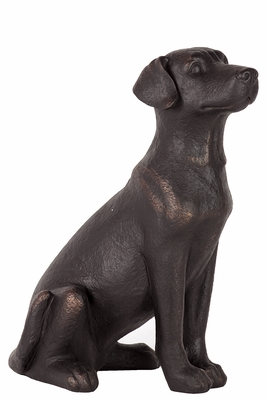 Manhattan's Classy Unique Resin Dog Large by Urban Trends Collection