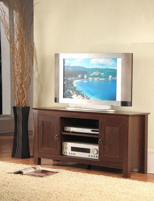 Manhattan's Contemporary Styled Deluxe TV Stand by 4D Concepts