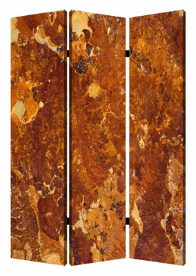 Marble Screen with Complementary Images on canvas in Brown Brand Screen Gem