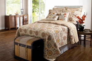 Marquis Collection Andorra Multi Color King Sham by Greenland Home Fashions
