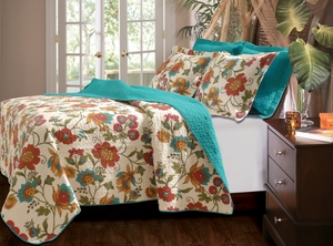 Marquis Collection Clearwater Multi Color Standard Sham by Greenland Home Fashions