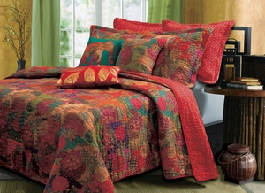 Marquis Collection Jewel Multi Color Standard Sham by Greenland Home Fashions