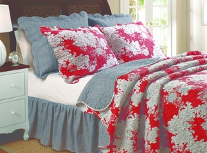 Marquis Collection Lorraine Multi Color King Sham by Greenland Home Fashions