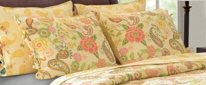 Marquis Collection Sunset Paisley Multi Color King Sham by Greenland Home Fashions