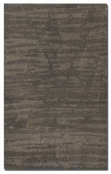 "Marrakech 16"" Medium Shag Grey Rug with Low Cut Subtle Details Brand Uttermost"