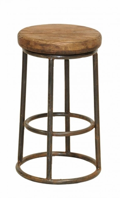 Marvelous Circular Top Jaden Counter Stool