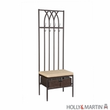 Marvelous Holly & Martin Seville Hall Tree Entry Bench