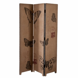 Marvelous & Vintage Butterfly Room Divider by Southern Enterprises