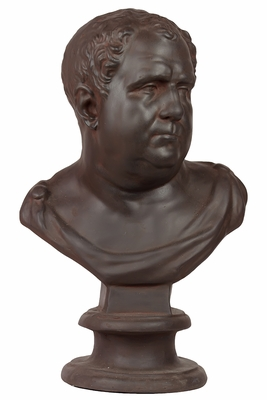 Massachusetts Brilliant Fiberstone Man bust by Urban Trends Collection