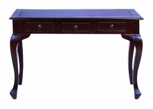 Master Craft Traditional Wooden Console Table Brand Woodland