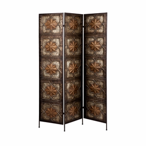 Masterpiece of Arabesque 3-Panel Screen by Southern Enterprises