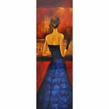 Masterpiece of Women of Distinction Blue by Yosemite Home Decor