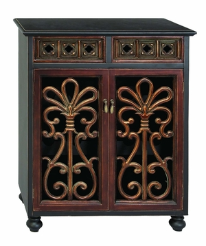 Masterpiece Vino Wood Wine Antique Cabinet Bar Rack 37 Inch Height Brand Woodland