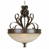 Mckensi Collection Classy Styled 3 Light Pendant Lighting in Bronze by Yosemite Home Decor