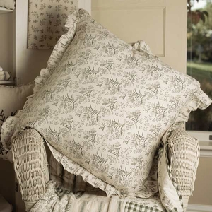 "Meadowsedge Pillow Fabric 16X16"" Brand VHC"