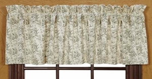 """Meadowsedge Valance Lined 16X72"""" Brand VHC"""