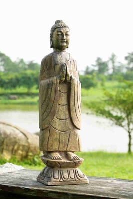 Meditating Garden Buddha Statue For Sensible Decoration Brand SPI-HOME