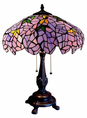 Memorable and Magical Wisteria Table Lamp by Chloe Lighting