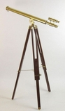 Mesmerizing Antique Styled Telescope Double Barrel by IOTC