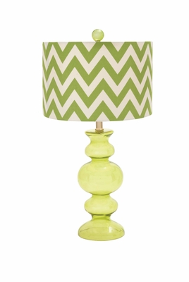 Mesmerizing Classy Styled Glass Table Lamp by Woodland Import