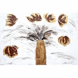 Mesmerizing Painting of Floral Impressions II by Yosemite Home Decor
