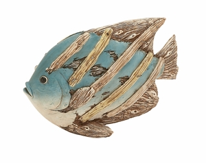 Mesmerizing Polystone Fish D�cor by Woodland Import