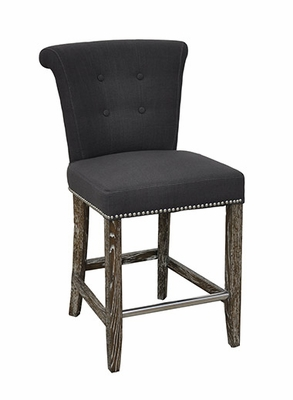Mesmerizing Styled Vincente Counter Stool -Grey