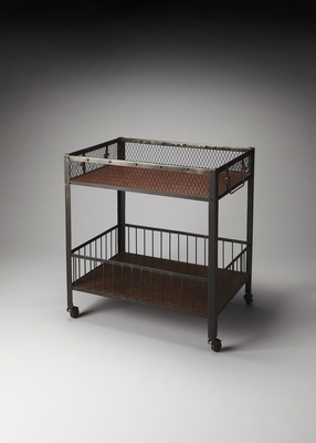 Mesmerizing Unique Styled Serving Cart by Butler Specialty