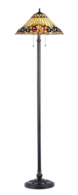 Mesmerizing Unique Styled Victorian Floor Lamp by Chloe Lighting