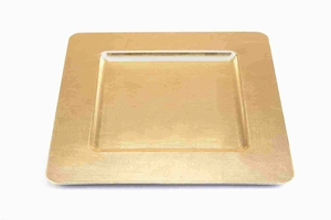 "Metal 13"" Regular Charger Plate DesignedSet of 24 Brand Woodland"