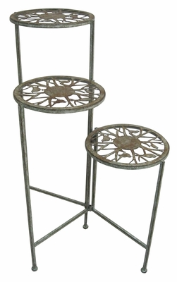 Metal 3 Tier Plant Stand by Alpine Corp