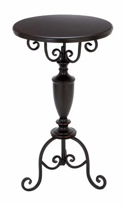 Metal Accent Table Accent Collection - 53823 by Benzara