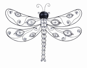 Metal Acrylic Dragonflies An Unique Nature Inspired Wall Decor Sculpture Brand Woodland