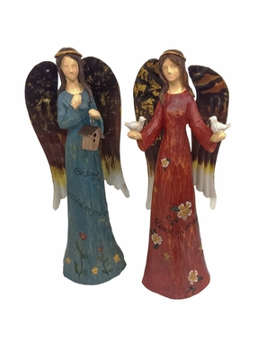 Metal Angel Set of 2