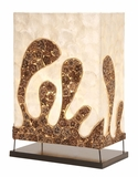 Metal Capes Table Lamp Elegant And Different In Its Class Brand Woodland