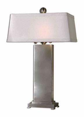 Metal Contemporary Table Lamp with Intricate Detailing Brand Uttermost
