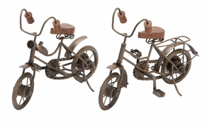 Metal Cycle 2 Assorted Both Cycles Seem Ready To Ride Brand Woodland