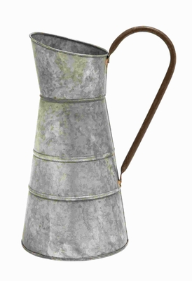 Metal Galvanized Watering Jug with Classic Style Design Brand Woodland