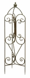 Metal Garden Trellis with Intricate Design and Fine Detailing Brand Woodland