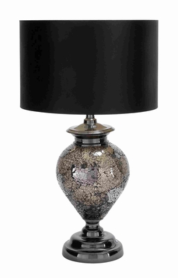 Metal Glass Mosaic Table Lamp made with Sleek and Elegant Profile Brand Woodland