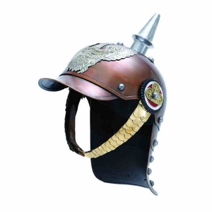 Metal Helmet with Vintage Looks, Wearable and Fully Functional Brand Woodland