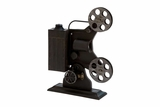 Metal Table Decor, Film Projector, 19 x 14 Inch Brand Woodland