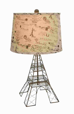 Metal Table Lamp with Balanced Design and Effective Lighting Brand Woodland