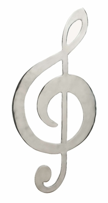 Metal Wall Art Decor Sculpture with Music Sign Knot Symbol Brand Woodland